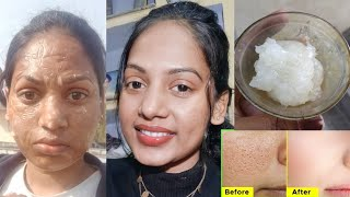 Skin tightening face mask for glowing skin anti aging anti wrinkles corn flour for skin whitening