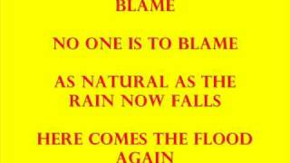 Katie Melua - The flood lyrics