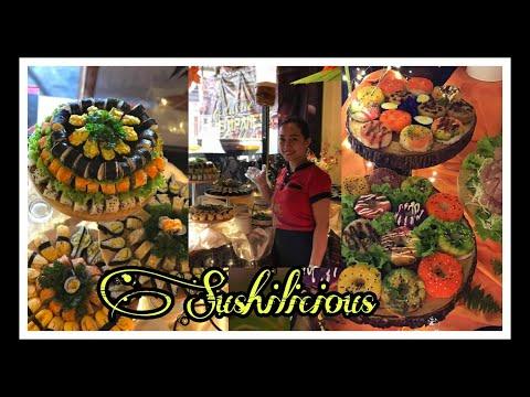 UnliSushi || Sushilicious || Japanese Buffet @Mifune Japanese Restaurant || Dumaguete