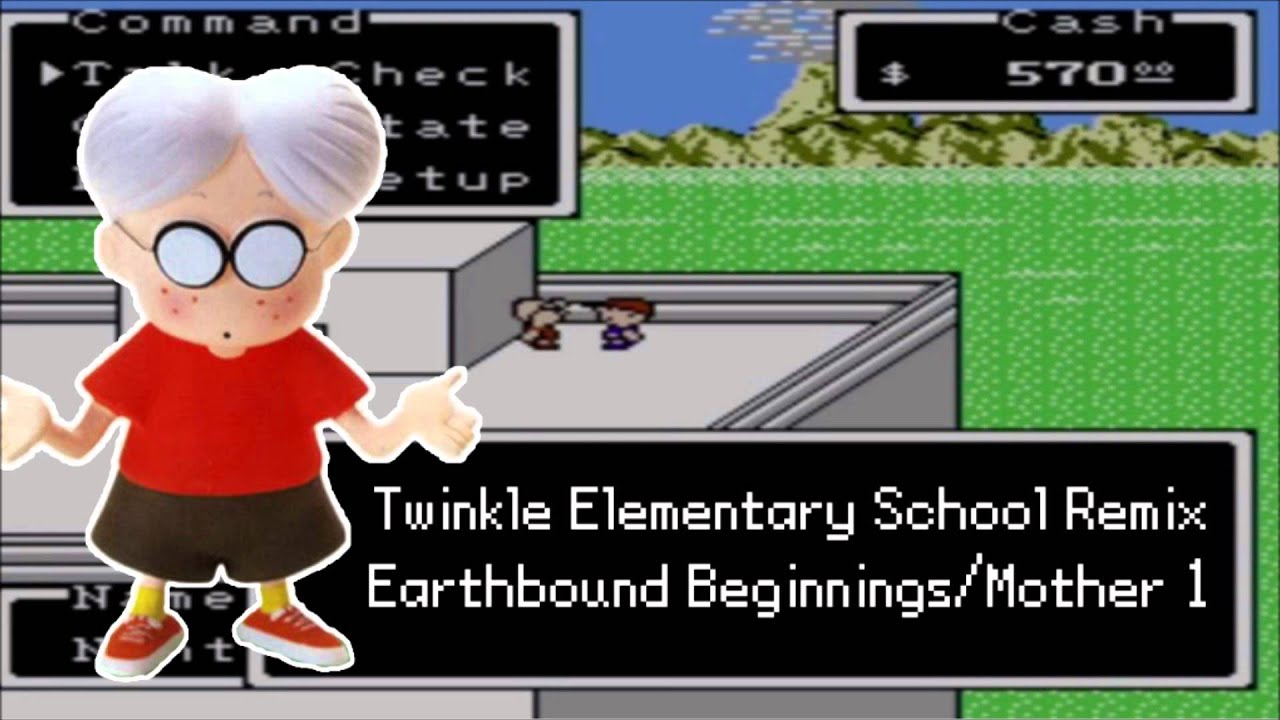 [REMIX] Twinkle Elementary School- Earthbound Beginnings/Mother 1