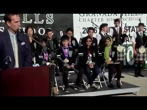 Granada Hills Charter High School wins the 2016 US Academic Decathlon