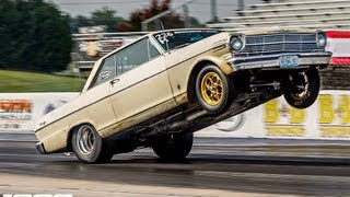 400ft Wheel Stand - The 1100hp TT Crusty Nova!