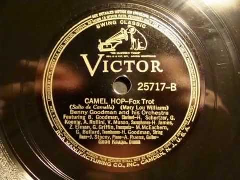 78rpm: Camel Hop - Benny Goodman and his Orchestra, 1937 - Victor 25717