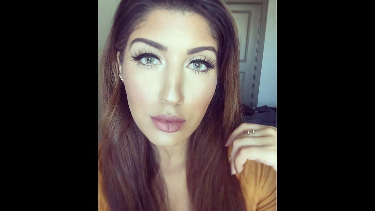b95645ab4d4 HudaBeauty Farah Lashes - Makeup Look - YouTube