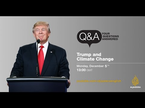 Q&A: Donald Trump's take on global warming and climate change