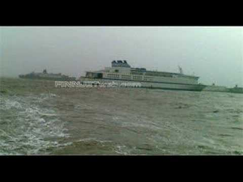 GTS FINNJET beached at Alang (India) for scrapping    She has gone -  forever :(