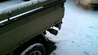 cold start. 1992 Daihatsu Hijet s83p