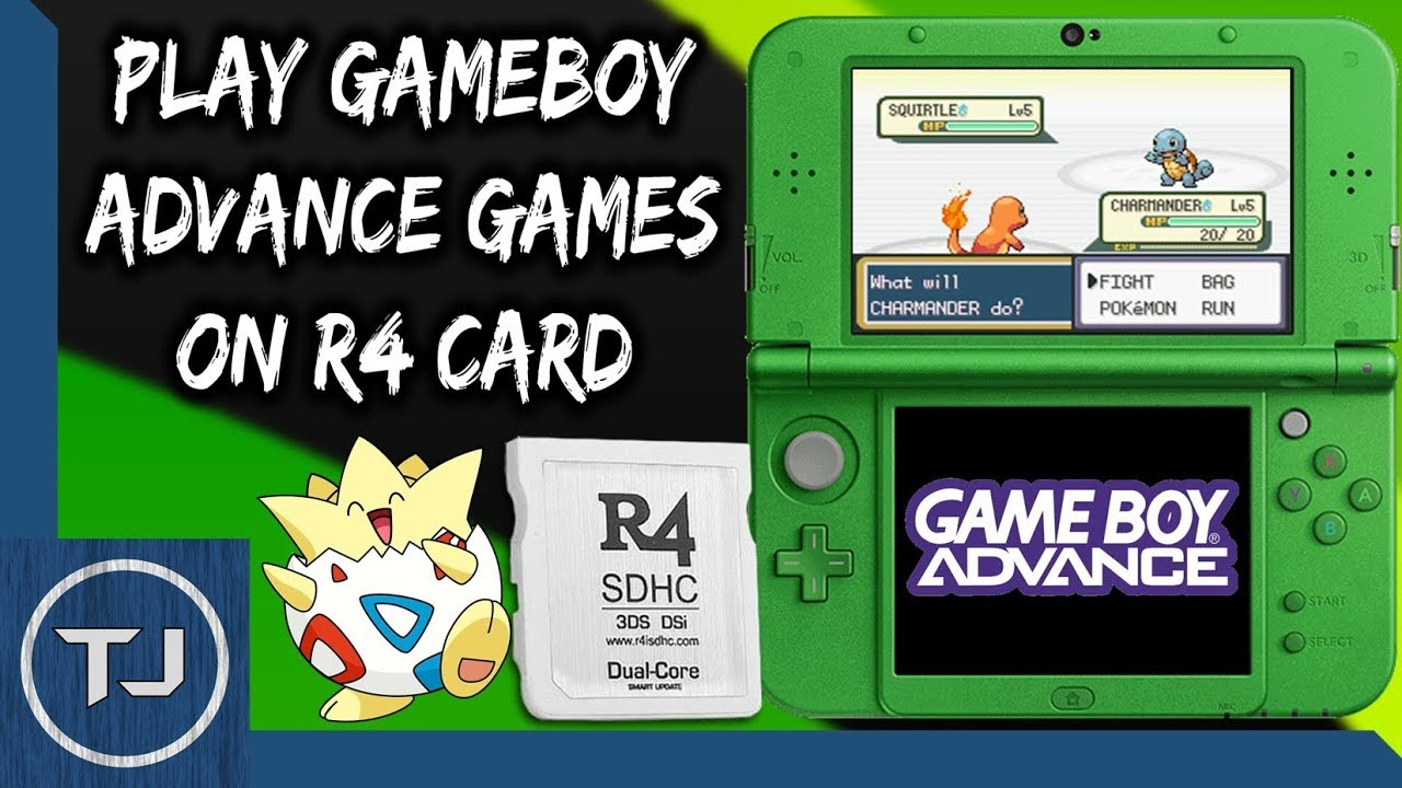 Play GameBoy Advance Games On Any R4 Card! (GBAEMU4ds ...