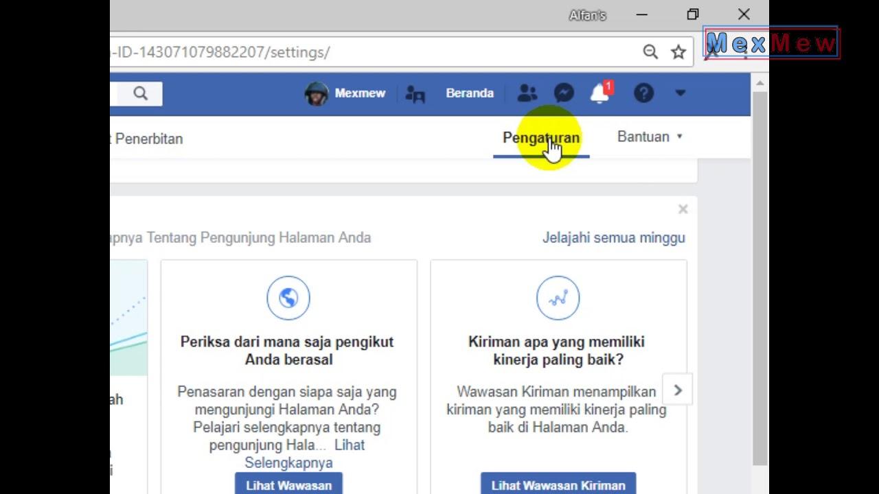 Cara Menambah Admin Di Fan Page Facebook Youtube