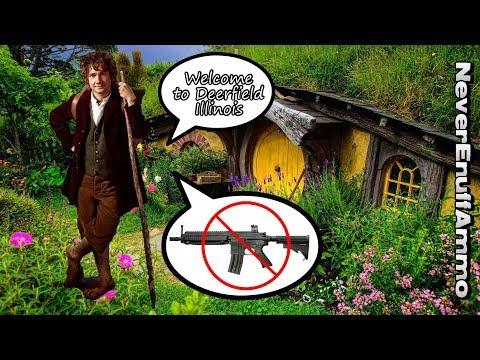 Hobbit Village of Deerfield Illinois Bans Guns!