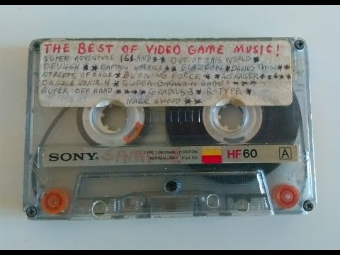 Vintage 90's Game Music Recorded On Audio Cassettes (Tape 1 - Side A)