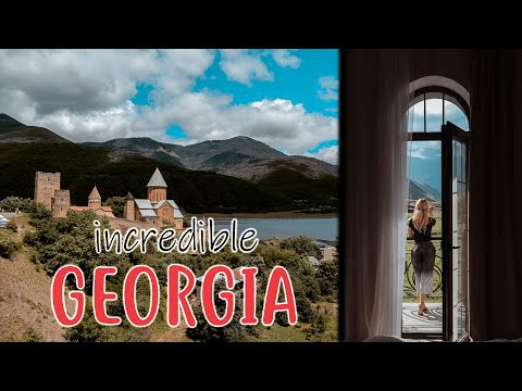 TBILISI To KAZBEGI Roadtrip! | GEORGIA TRAVEL VLOG