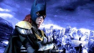 Injustice Gods Among Us Batgirl Trailer