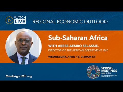 Press Briefing - Regional Economic Outlook: Sub-Saharan Africa, April 2020