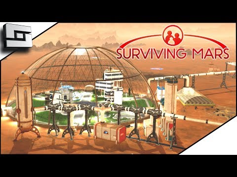 Building a New Dome! Surviving Mars Gameplay! E5