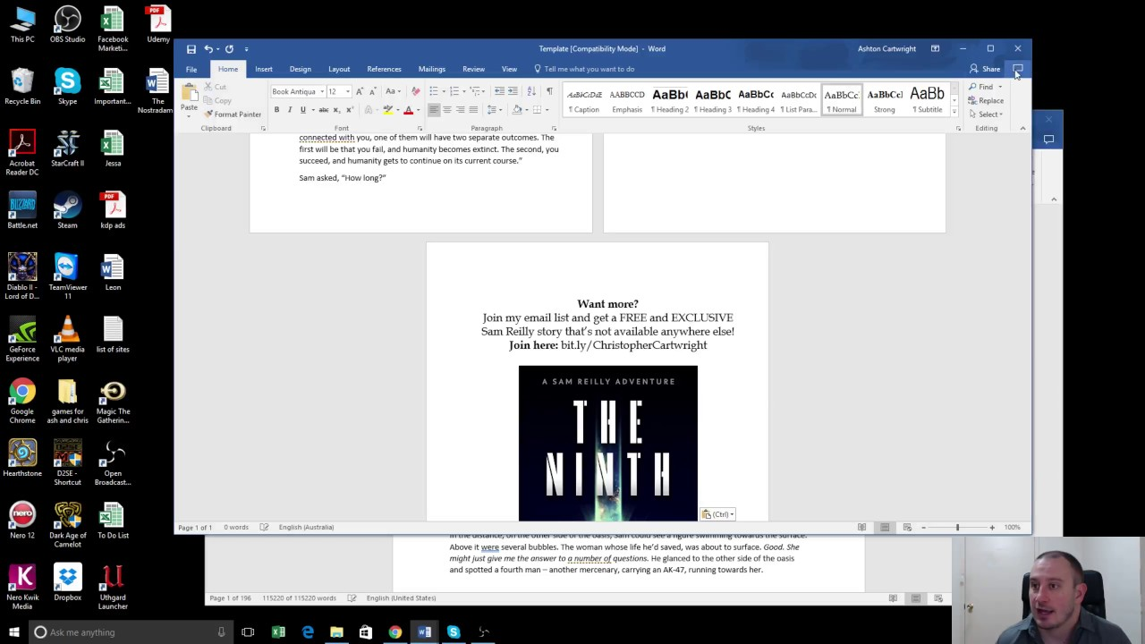 How to Format a Paperback Book in MS Word for Amazon KDP