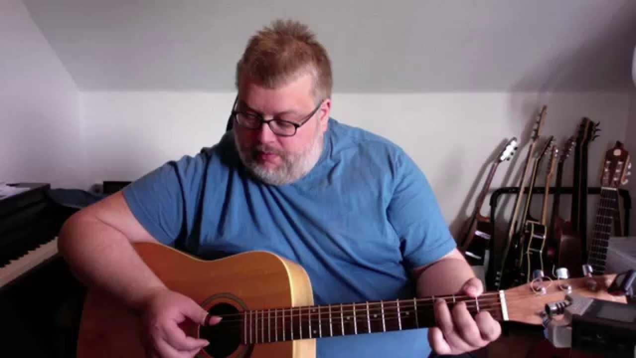 Lær at spille Freight train fingerstyle tutorial på guitar - del1