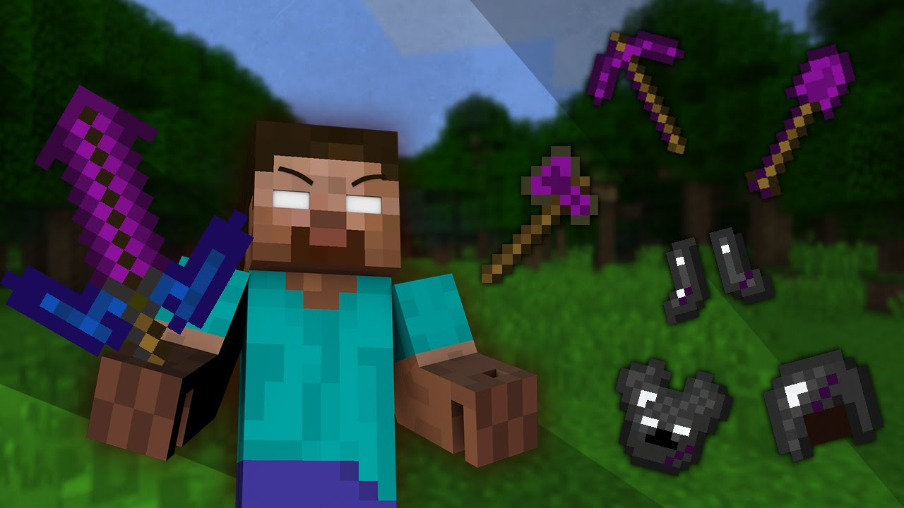 if herobrine tools existed minecraft youtube