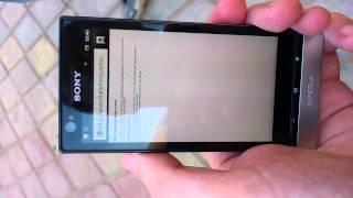 видео Не работает подключение к интернету SONY XPERIA MIRO