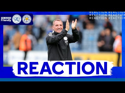 'I'm Pleased With Their Progress' - Brendan Rodgers | Queens Park Rangers 3 Leicester City 3
