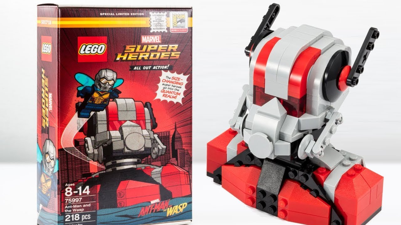 LEGO Ant-Man and The W...