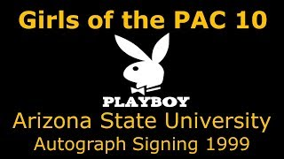 Playboy Girls of the PAC 10 - Autograph Signing at Tower Records 1999