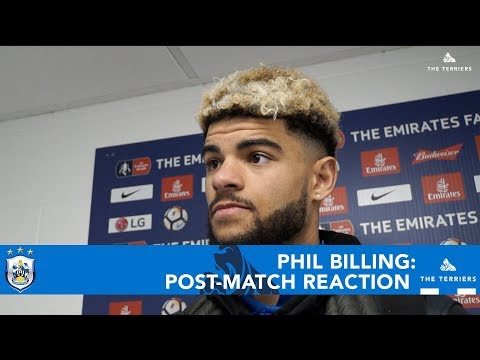 WATCH: Phil Billing spoke to HTTV after the Emirates FA Cup defeat to Manchester United