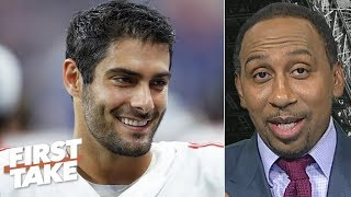 The jury is still out on Jimmy Garoppolo - Stephen A. | First Take