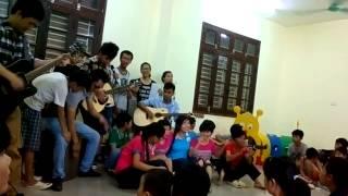 Quê Hương Việt Nam - CLB guitar THPT Vân Nội - tại Làng Hữu Nghị Việt Nam