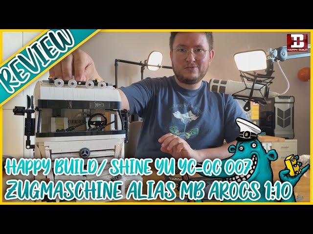 Happy Build YC-QC 007 Zugmaschine/ AROCS 4163: Gigantisch groß = gigantisch gut?