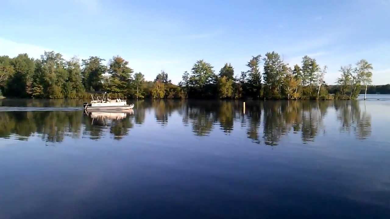 Lake Holcombe Wi Youtube