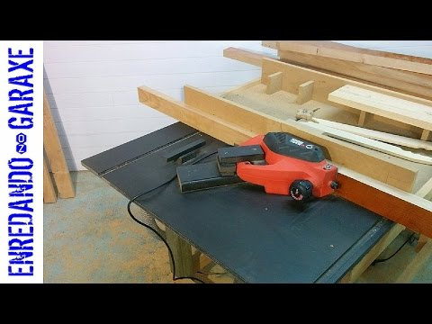 How to use my THICKNESS PLANER