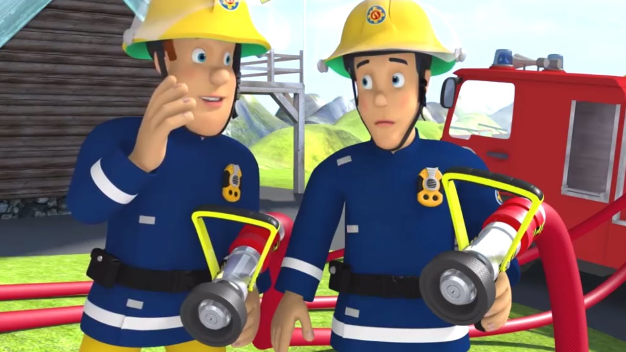 This is a picture of Refreshing Fireman Sam Pic