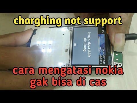 Nokia x2-01 pengisian daya tidak didukung