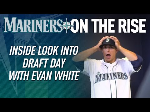 Inside look into Draft day with Evan White