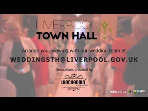 Weddings at Liverpool Town Hall