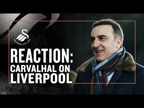 Carvalhal on Liverpool win
