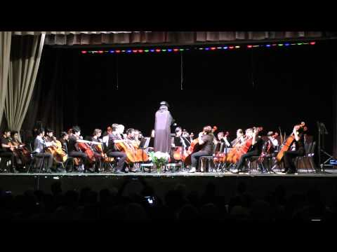 The Imperial March (Darth Vader's Theme). Cello Ensemble. Paul Revere  Middle School Spring 2015