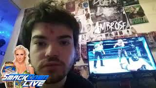 My reaction to Charlotte flair win the Smackdown women's champion