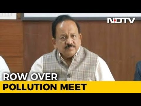 Only Delhi Minister Answers Centre's Call, 4 States Skip Pollution Meet