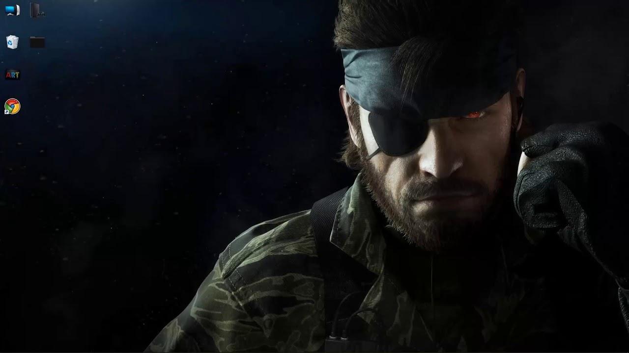 Wallpaper Engine Snake Big Boss Metal Gear Solid Free Youtube