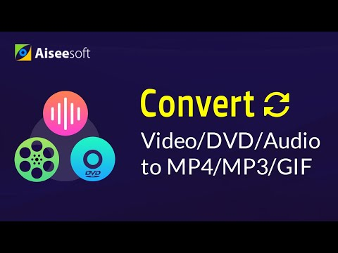 How to Convert Video/DVD/Audio to MP4/MP3/GIF/Midi/Digital