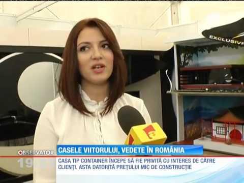 Locuinţele viitorului, vedete în România