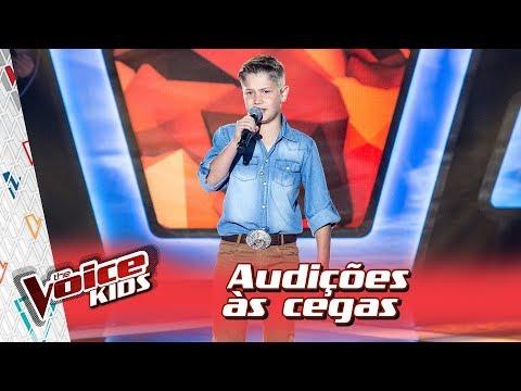 Arthur Secco canta 'Será Que Foi Saudade?' na Audição – 'The Voice Kids Brasil' | 3ª Temporada