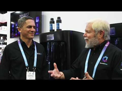 Avi Reichental talks with Nexa3D Chief Product Officer Izhar Medalsy at RAPID + TCT Event Detroit
