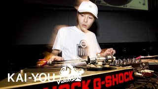 DJ YUTO - DMC JAPAN 2016 世界チャンピオンのDJプレイ