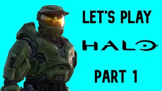 Halo CE Anniversary | Legendary Campaign (Let's Play) Part 1 | The Pillar of Autumn