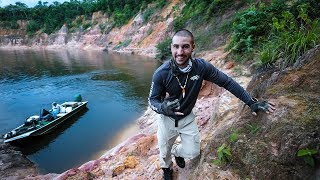 Fishing the AMAZON Jungle for River MONSTERS!! (EP.2)