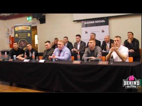 LAST MAN STANDING! REVOLUTIONARY IRISH PRIZEFIGHTER TOURNAMENT - FULL PRESS CONFERENCE