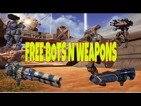 How To Get Free Bots N Weapons From War Robots